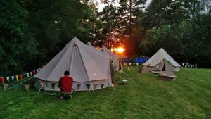 Zeltaufbau Sommercamp 2016