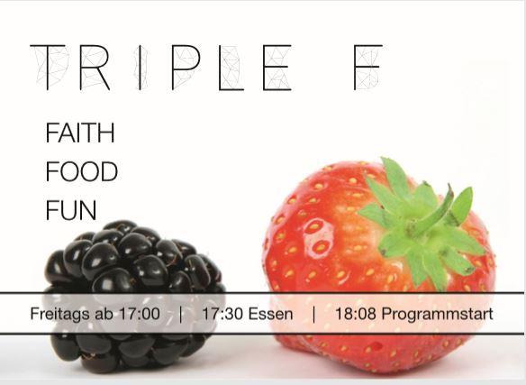 Einladungskarte Triple F