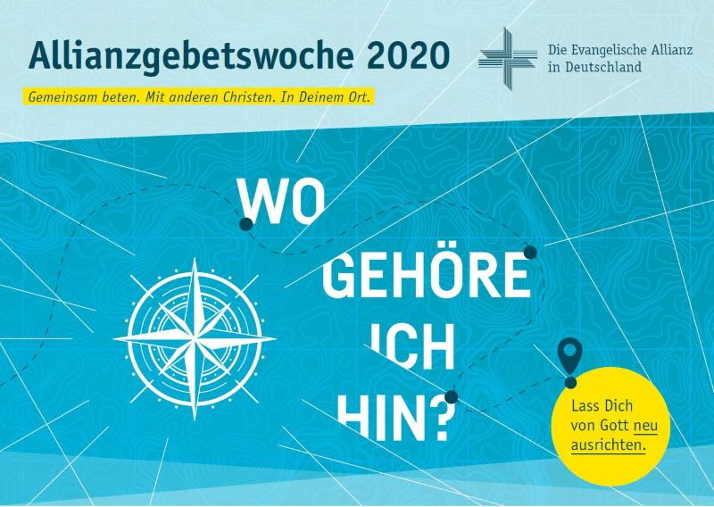 Titelbild Allianzgebetswoche 2020